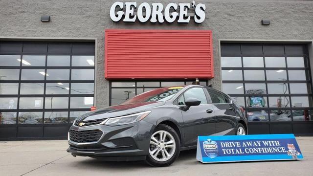 2017 Chevrolet Cruze a la venta en Flat Rock, MI - Image 1