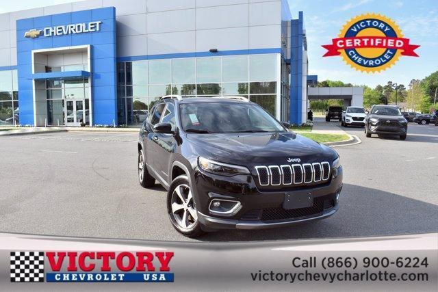 2020 Jeep Cherokee a la venta en Charlotte, NC - Image 1