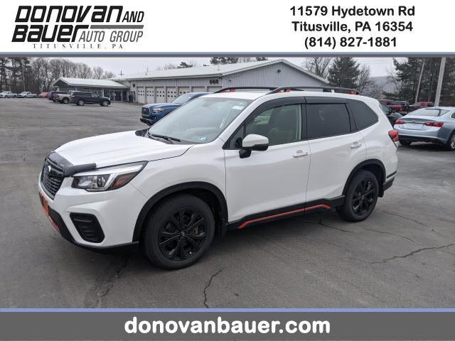 2019 Subaru Forester a la venta en Titusville, PA - Image 1