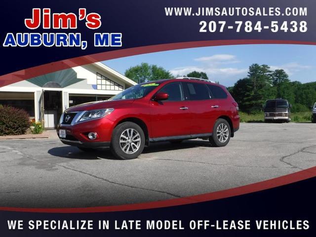 2015 Nissan Pathfinder a la venta en Auburn, ME - Image 1