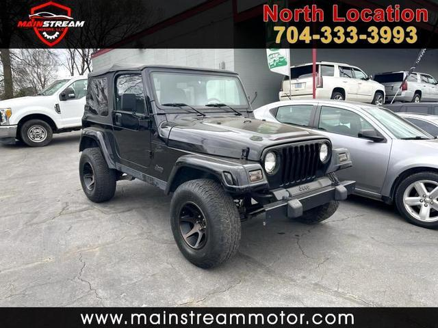 2001 Jeep Wrangler for Sale in Charlotte, NC - Image 1