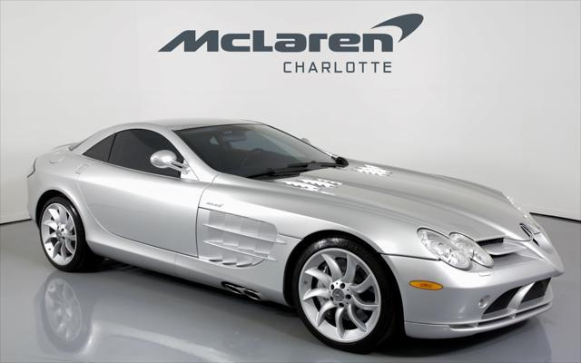 Used 2006 Mercedes Benz Slr Mclaren Coupe In Charlotte Nc Auto Com Wddaj76f66m000842
