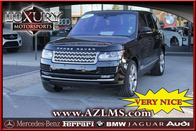 2017 Land Rover Range Rover for Sale in Phoenix, AZ - Image 1