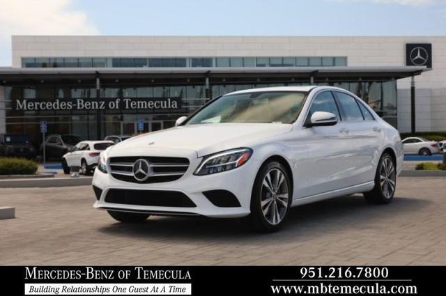 2020 Mercedes-Benz C-Class a la venta en Temecula, CA - Image 1