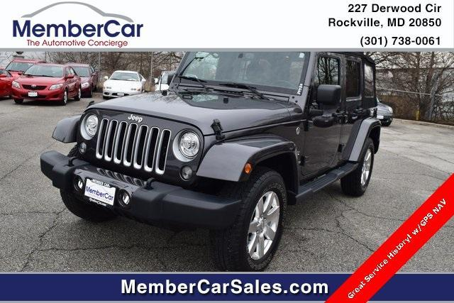 2018 Jeep Wrangler JK Unlimited for Sale in Rockville, MD - Image 1