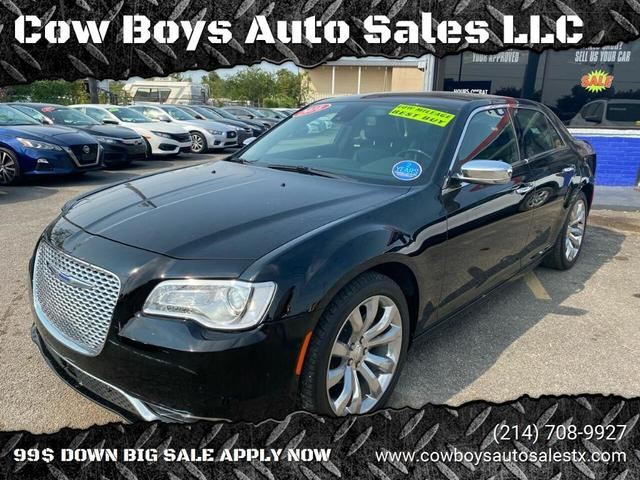 2018 Chrysler 300 for Sale in Garland, TX - Image 1