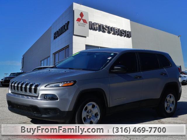 2017 Jeep Cherokee a la venta en Wichita, KS - Image 1