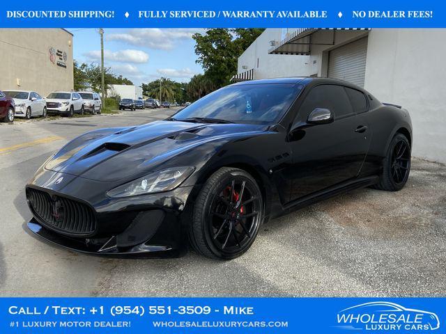 2017 Maserati GranTurismo for Sale in Fort Lauderdale, FL - Image 1