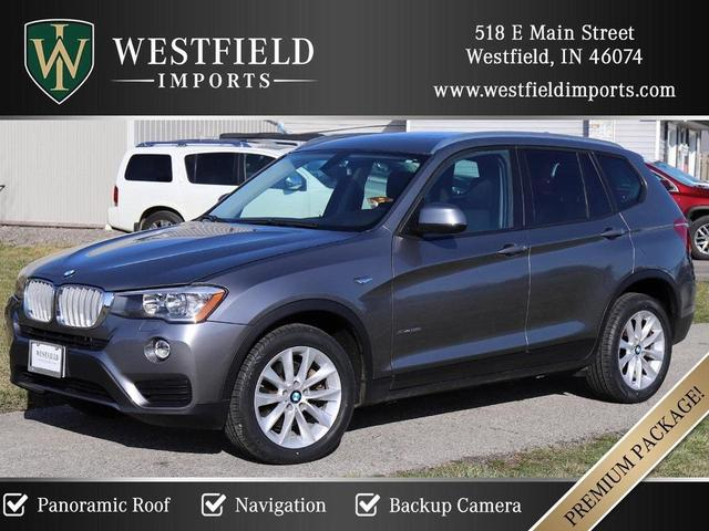 2017 BMW X3 for Sale in Westfield, IN - Image 1