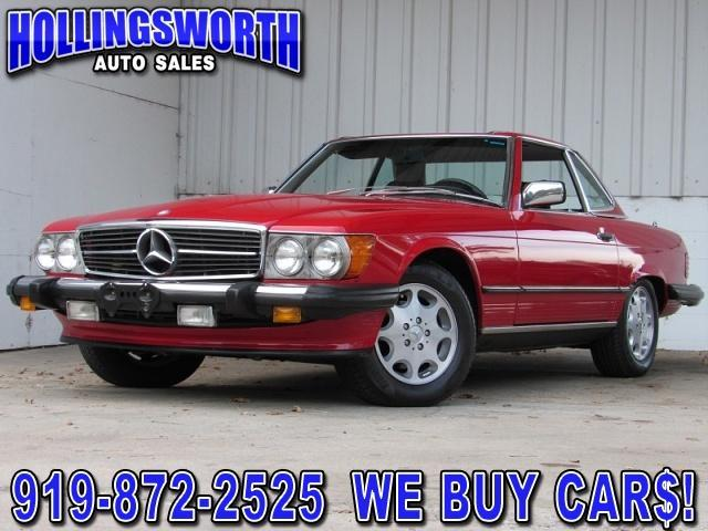 1987 Mercedes-Benz SL-Class for Sale in Raleigh, NC - Image 1