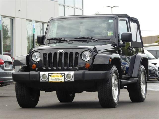 Used 2008 Jeep Wrangler Sahara Suv In Leesburg Va Near 20175