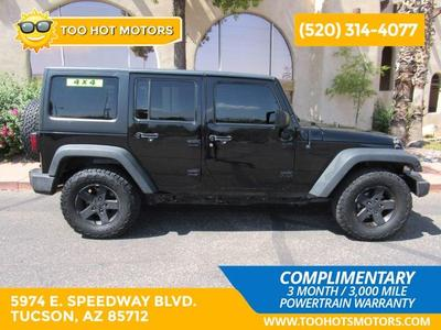 used 2016 Jeep Wrangler Unlimited car, priced at $23,495