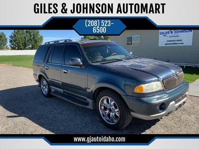 used 2001 Lincoln Navigator car, priced at $1,995