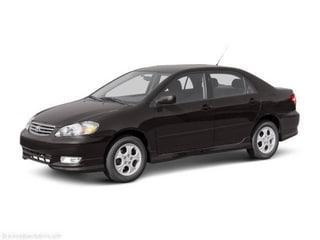 used 2003 Toyota Corolla car