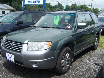 used 2007 Subaru Forester car, priced at $6,200