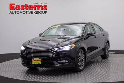 used 2017 Ford Fusion car, priced at $17,950