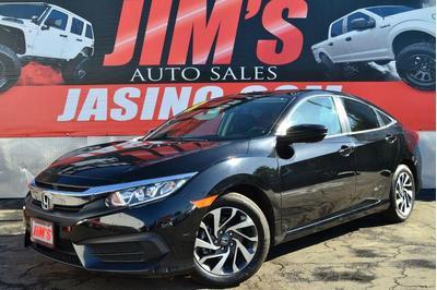 used 2018 Honda Civic car, priced at $16,995