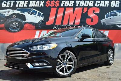 used 2017 Ford Fusion car, priced at $15,995
