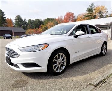 used 2017 Ford Fusion Hybrid car, priced at $13,995