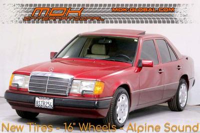 used 1992 Mercedes-Benz E-Class car, priced at $9,990