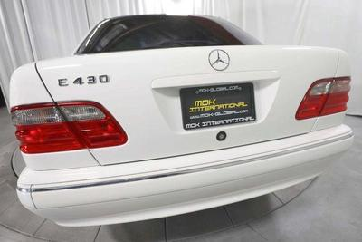 used 2002 Mercedes-Benz E-Class car, priced at $9,990