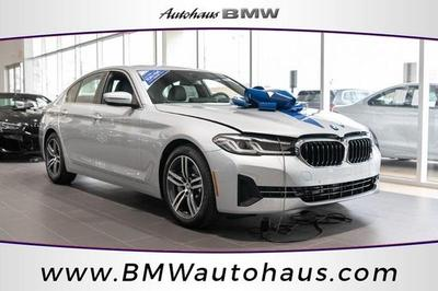used 2021 BMW 530 car, priced at $57,502