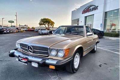 used 1980 Mercedes-Benz 450SL car, priced at $19,800
