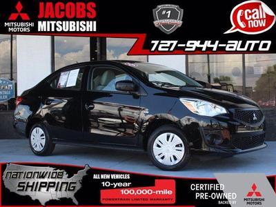 used 2019 Mitsubishi Mirage G4 car, priced at $12,970