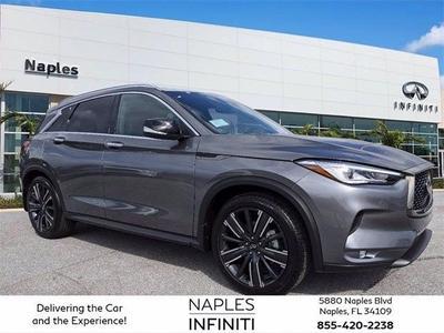 new 2021 INFINITI QX50 car, priced at $44,860