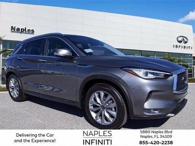 new 2021 INFINITI QX50 car, priced at $47,145