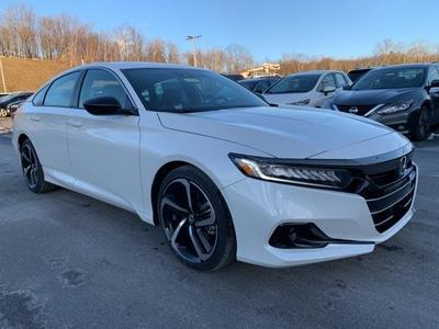 new 2021 Honda Accord car, priced at $27,062