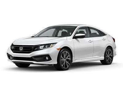 new 2021 Honda Civic car, priced at $23,431