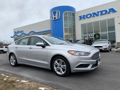 used 2018 Ford Fusion Hybrid car, priced at $12,191