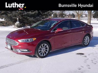 used 2017 Ford Fusion car, priced at $13,900