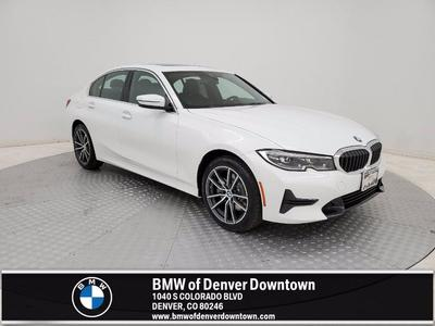used 2021 BMW 330 car, priced at $38,422