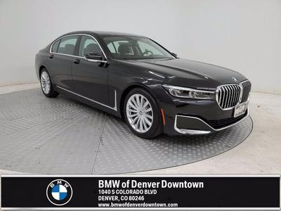 new 2021 BMW 740 car, priced at $93,100