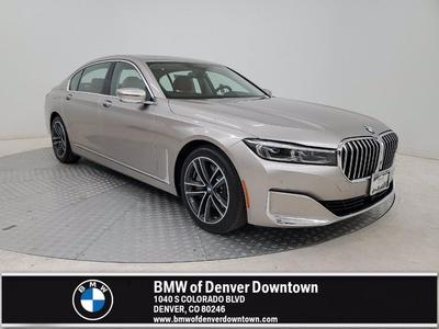 new 2021 BMW 750 car, priced at $106,545