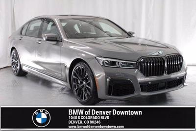 new 2021 BMW 750 car, priced at $117,945