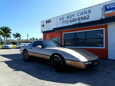 used 1987 Chevrolet Corvette car, priced at $9,000