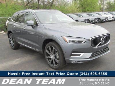 new 2019 Volvo XC60 car, priced at $55,705