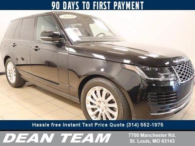 used 2018 Land Rover Range Rover car, priced at $79,995