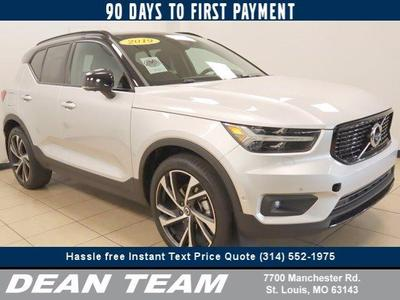 used 2019 Volvo XC40 car, priced at $39,895