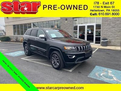 used 2018 Jeep Grand Cherokee car, priced at $33,990