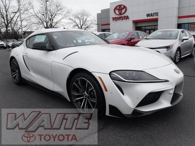 new 2021 Toyota Supra car, priced at $47,615