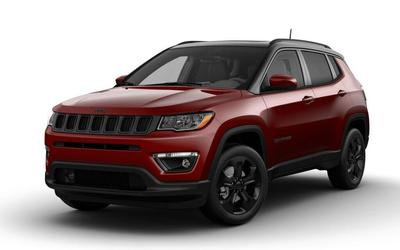 new 2021 Jeep Compass car, priced at $34,300