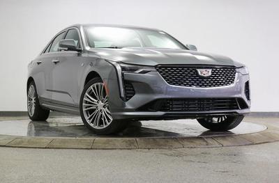 new 2021 Cadillac CT4 car, priced at $45,775