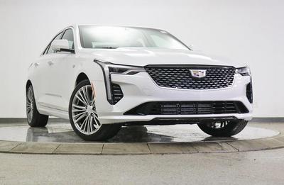 new 2021 Cadillac CT4 car, priced at $46,375