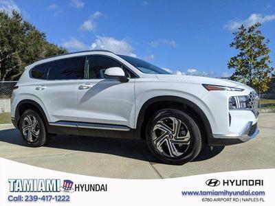 new 2021 Hyundai Santa Fe car, priced at $29,705