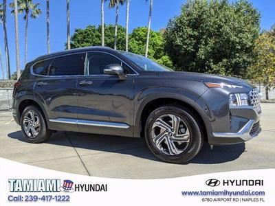 new 2021 Hyundai Santa Fe car, priced at $31,315