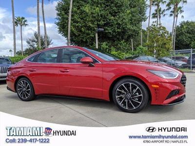 new 2021 Hyundai Sonata car, priced at $31,951